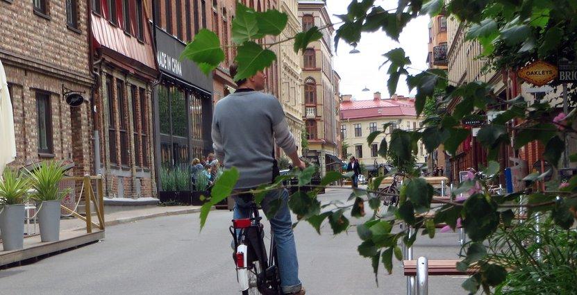 I somras blev Tredje Långgatan i Göteborg en populär och omtalad tillfällig gågata.