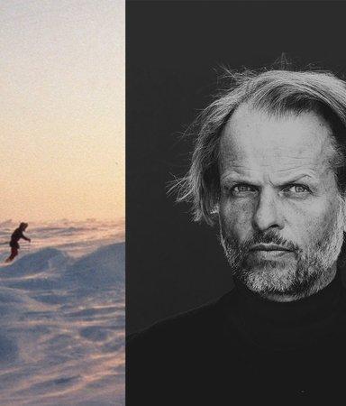 Han åkte skidor ensam till Sydpolen
