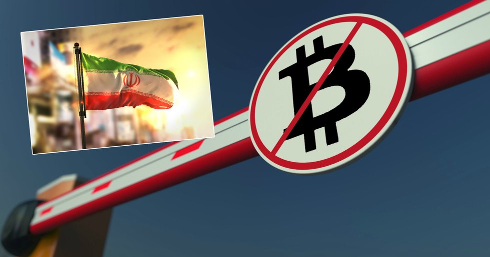 Iran bans use of cryptocurrencies – after the rial hit an all-time low.