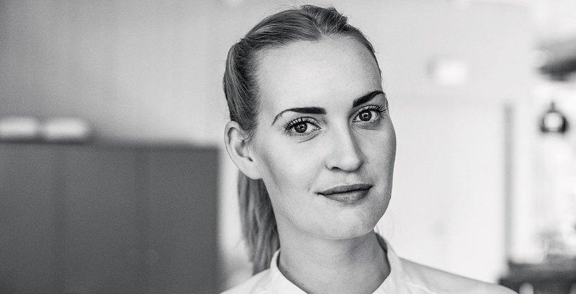 Annie Hesselstad är ny  chefskonditor på Artipelag. Foto: Artipelag