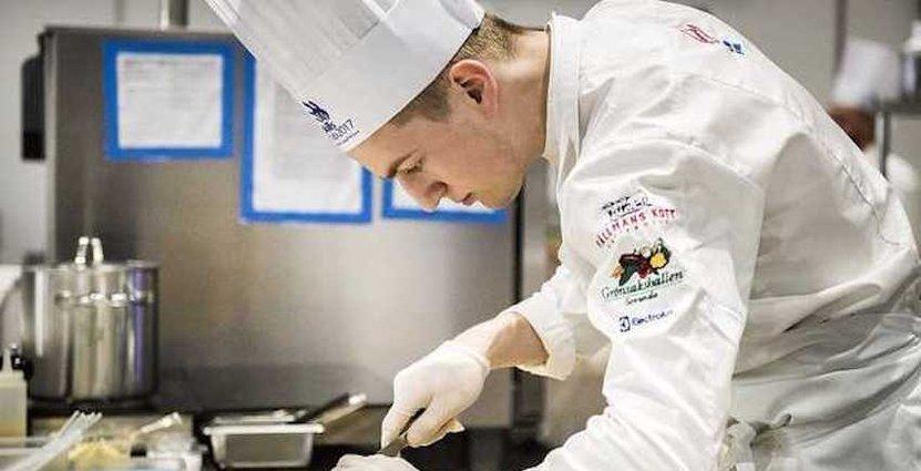 Gustav Leonhardt representerar Sverige i kocktävlingen.