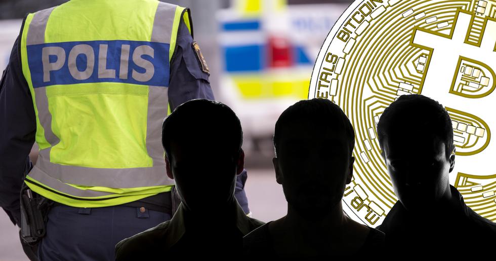 Tre män i Umeå misstänks för grov penningtvätt kopplat till kryptovalutor.