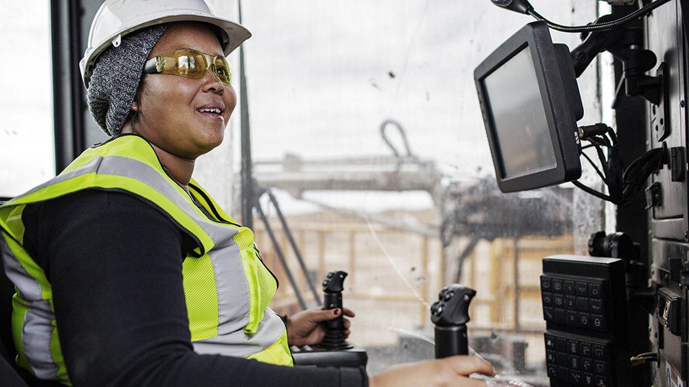 <p>Jabulie Zwane, Drill operator, Mafube Coal</p>