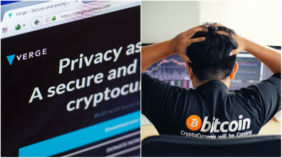 Daily crypto: Markets going down and hacker attack against Verge.