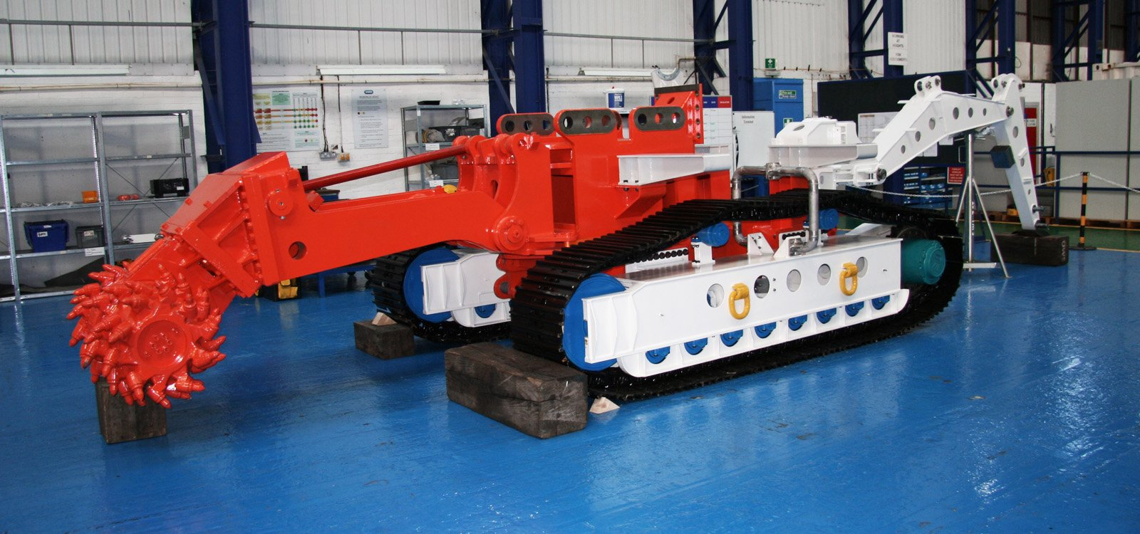 <p>Sandvik Mining and Rock Technology supplies the underwater mining machine with the cutting equipment and the frame.</p>