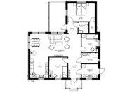 Se planritning för Villa Murberget