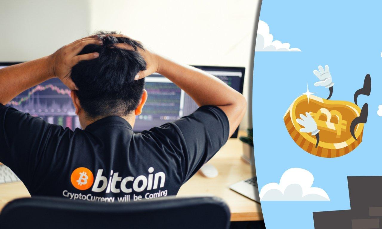 Bitcoinprisets svarta veckoslut efter rekordet – sjönk med över 20 procent