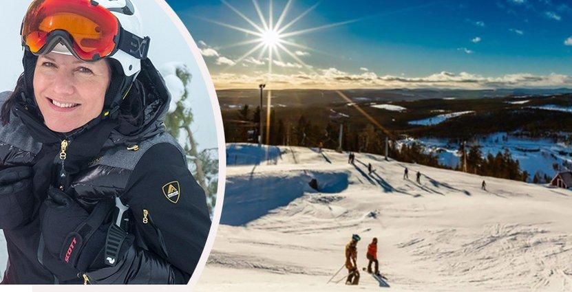 Efterfrågan på liftkort som friskvårdsförmåner<br />  ökar för skidanläggningarna.  Foto: Isaberg Mountain Resort, Storklinten