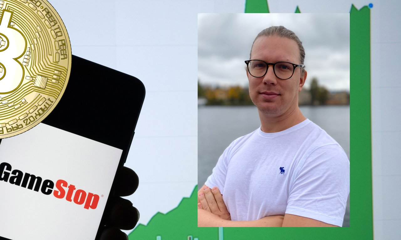 Martin Byström: Gamestop är bara början – snart kommer folket vända sig till bitcoin.