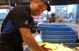 Dominos nya vd har rötterna i pizzan