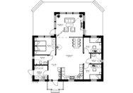 Se planritning för Villa Tjärned