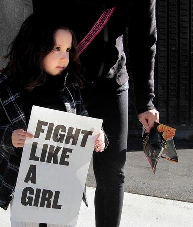 Den feministiska rörelsens starkaste röster - på en och samma scen
