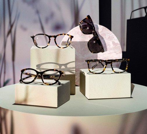 Circular Collection är Synsams nya hållbara glasögon, tillverkade av återvunna glasögon.