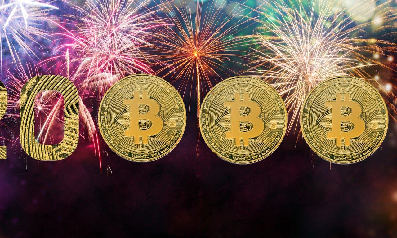 Bitcoinpriset rusar över 20 000 dollar: