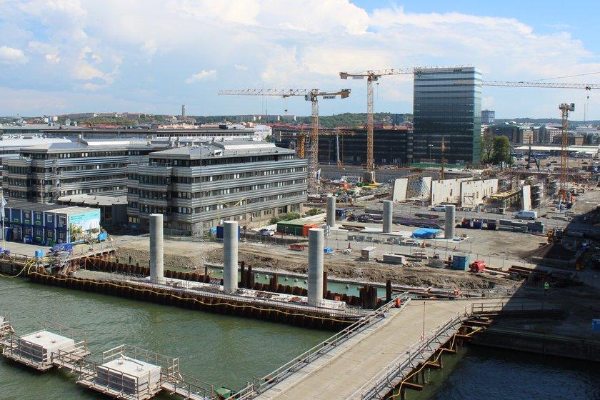 Hisingsbron på södra sidan. Foto: Trafik Göteborg