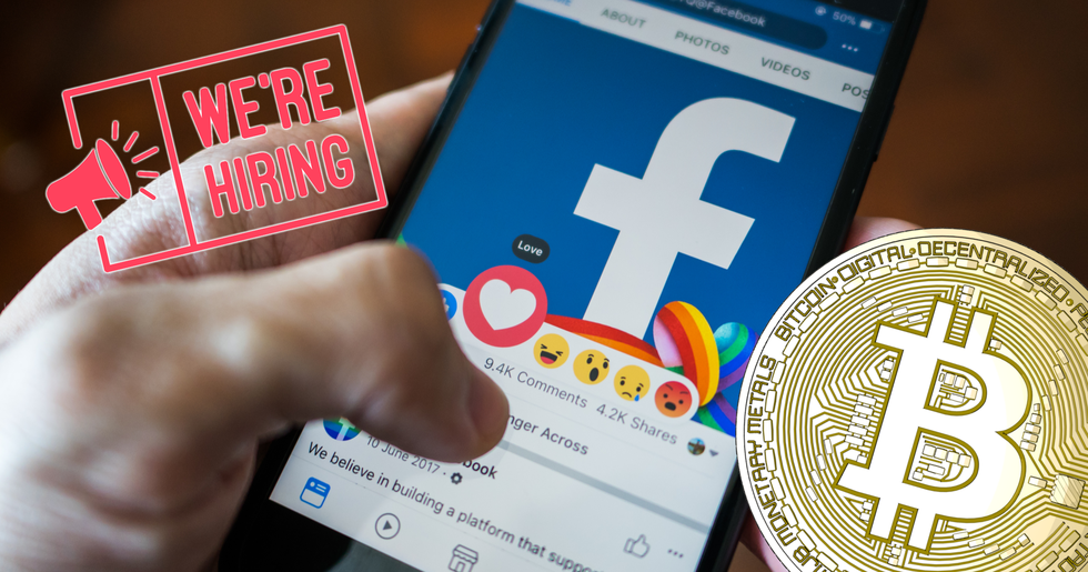 Facebook makes its first crypto acquisition – hires team from blockchain startup.