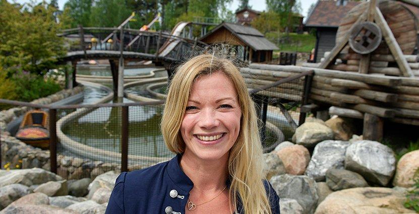 Lena Kempe har lagt en femårsplan som innebär stora investeringar. Foto: Daftö resort