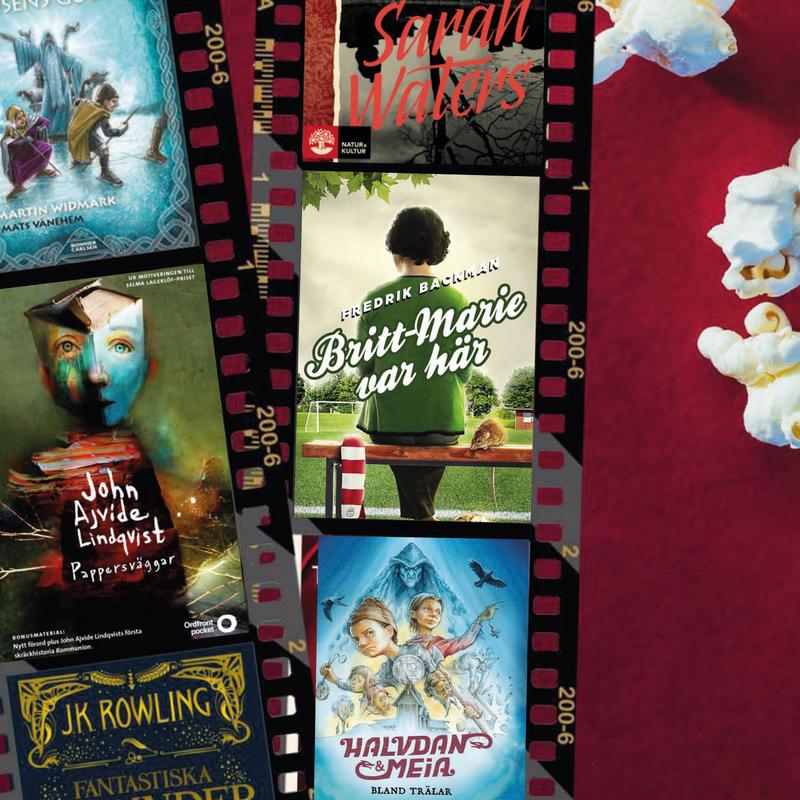 9 böcker som blir film hösten och vintern 2018