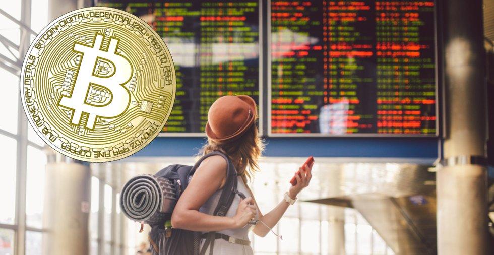 Nu kan du få ersättning i bitcoin när ditt plan är försenat