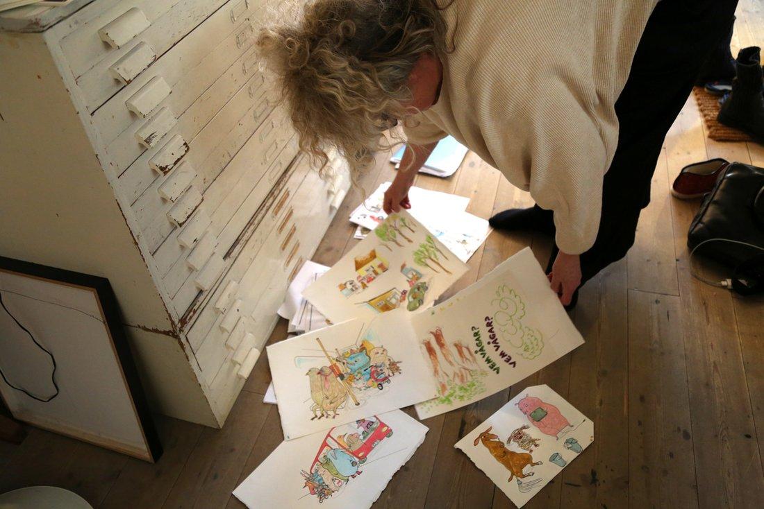 """Stina Wirsén: """"Jag behöver rita några timmar om dagen för att må bra"""""""