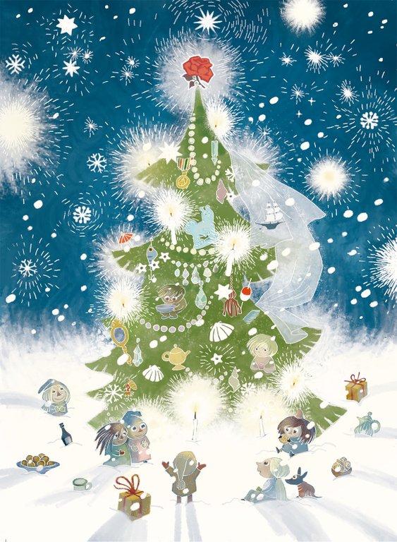 Ur <i>Julen kommer till Mumindalen</>