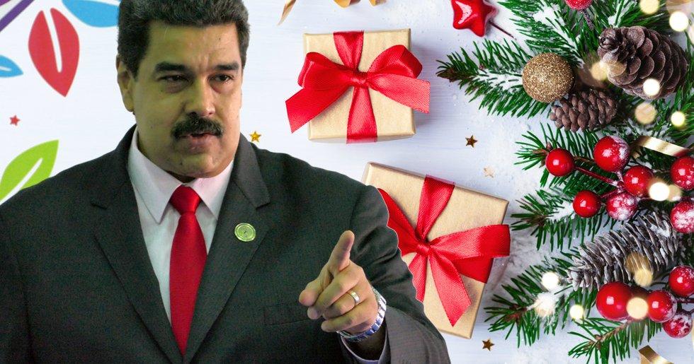 Venezuela tänker betala ut julbonusen till landets pensionärer – i petro.