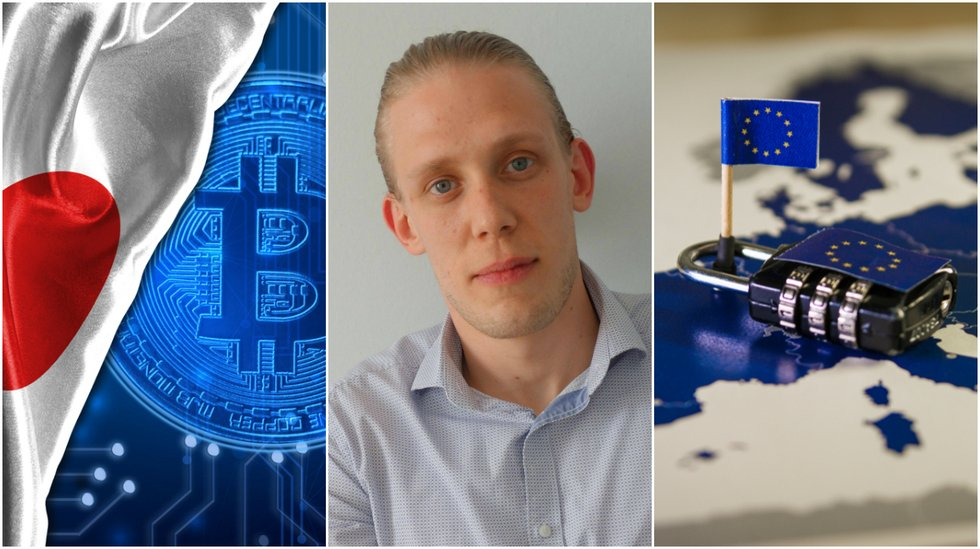 Jan Granroth: Japan is miles ahead Europe when it comes to cryptocurrencies.