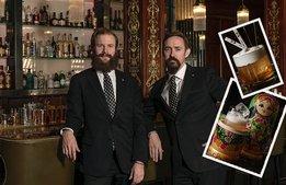 Grand Hotel hyllar grundare med historisk coctailmeny