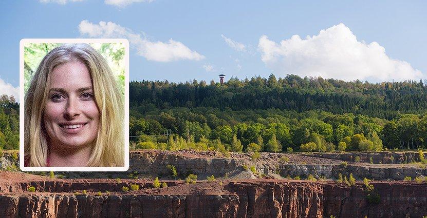 Anna Bergengren leder projektet att göra platåbergslandskapet<br />  till Sveriges första Unesco globala geopark.
