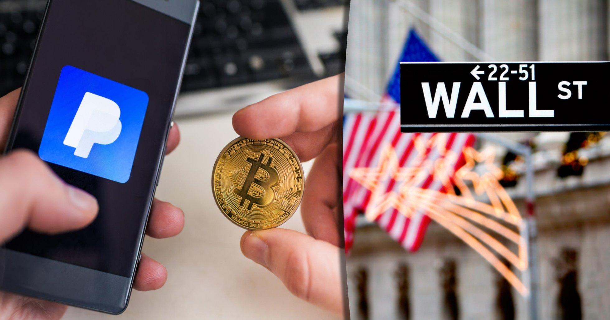 Paypals aktie har ökat med 16 procent sedan betaljätten lanserade kryptohandel