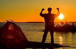 Rekord i sikte för landets campingar