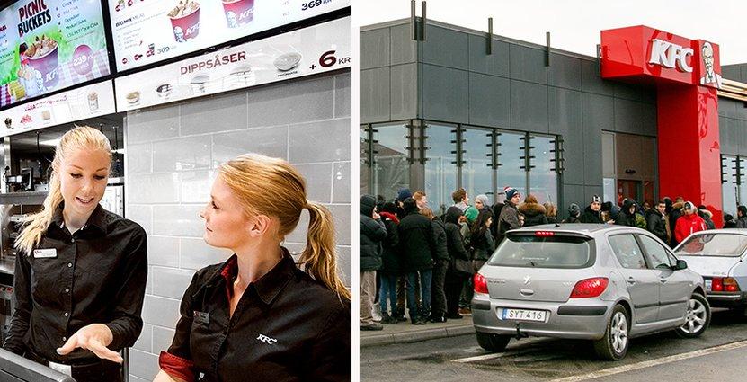KFC vill växa till 200 restauranger i Sverige