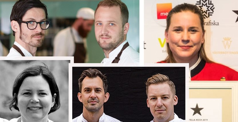 Ett år av många  utmärkelser till flera av Sveriges bästa kockar. Foto: Pressbilder