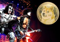 Kiss-legendaren Gene Simmons investerar i dogecoin och xrp