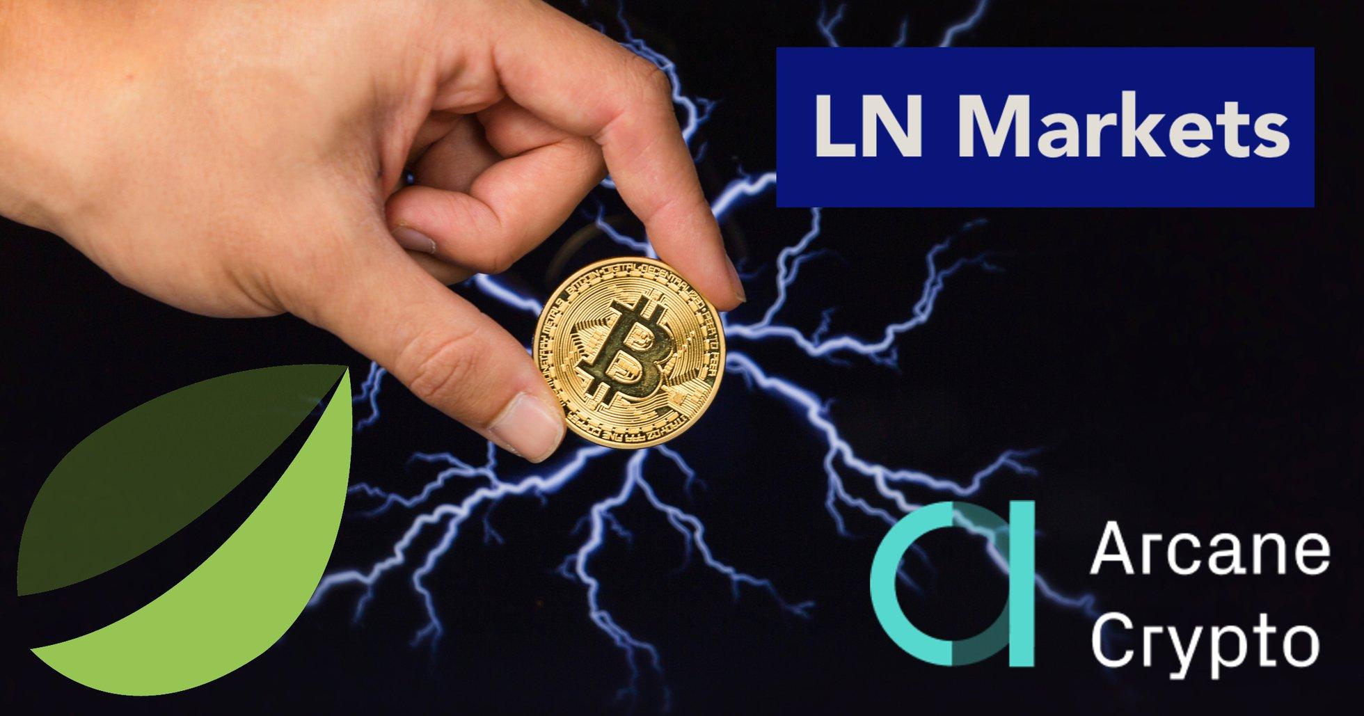 Arcane Crypto investerar i lightning network-börs – tillsammans med Bitfinex.