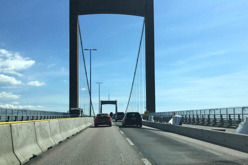 I sommar sker de mest trafikpåverkande arbetena på Älvsborgsbron.