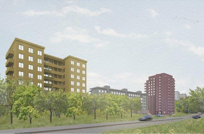 Åke Sundvall och FastPartner utvecklar Märsta Centrum