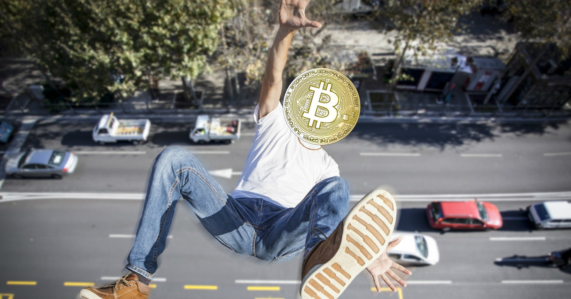 Bitcoinpriset fortsätter falla – handlas nu under 8 000 dollar.