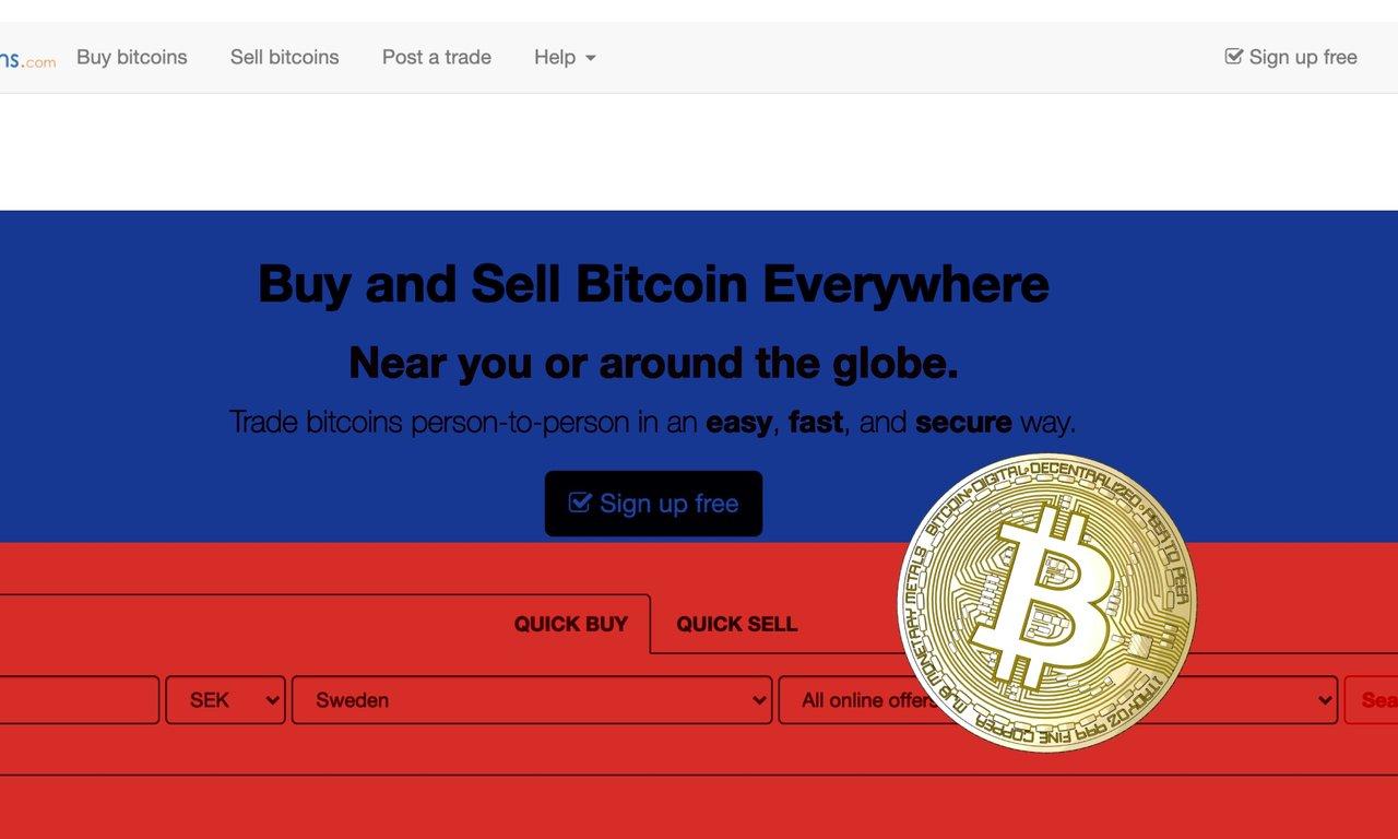 Den decentraliserade kryptobörsen Localbitcoins förbjuds i Ryssland