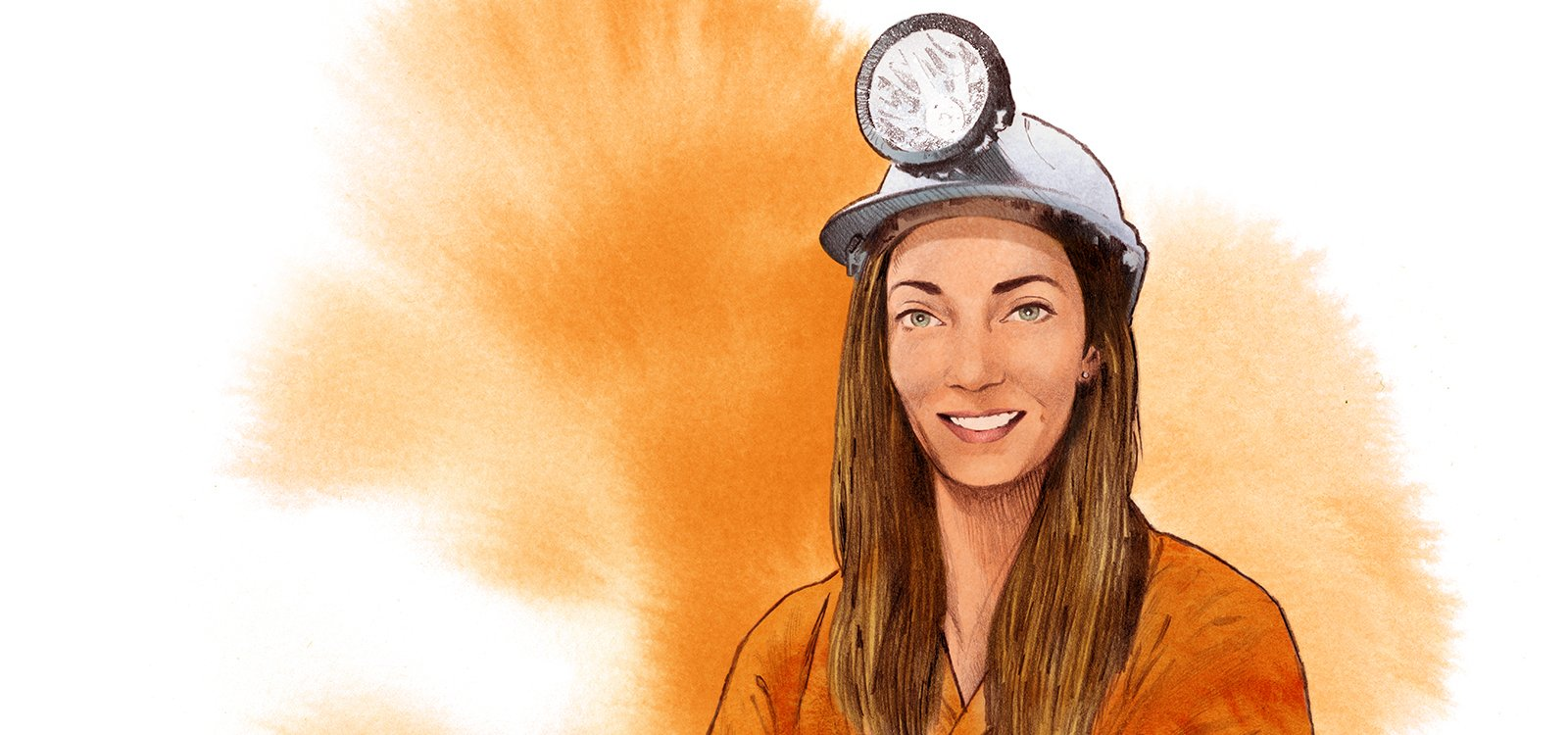 <p>Arlene Johnston turned her love of mining into a career underground, becoming the first female miner in Ireland.</p>