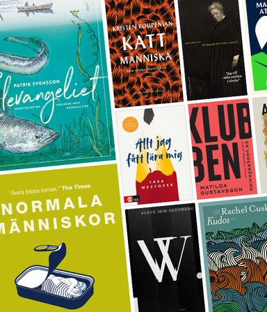 Här är böckerna alla snackade om under 2019