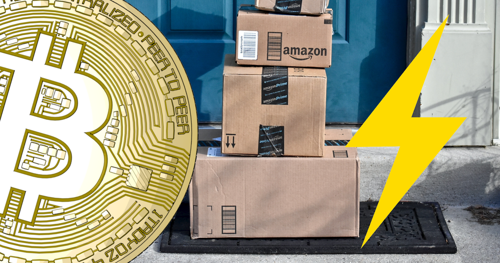 Now you can shop with bitcoin on Amazon using lightning network.