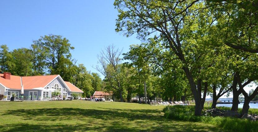 Första april nästa år öppnar Gränsö Slotts 600 kvadratmeter stora spa.
