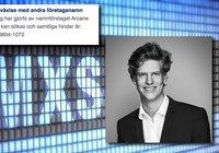 Namnkrocken löst – nu är Arcane Crypto helt klara för Stockholmsbörsen