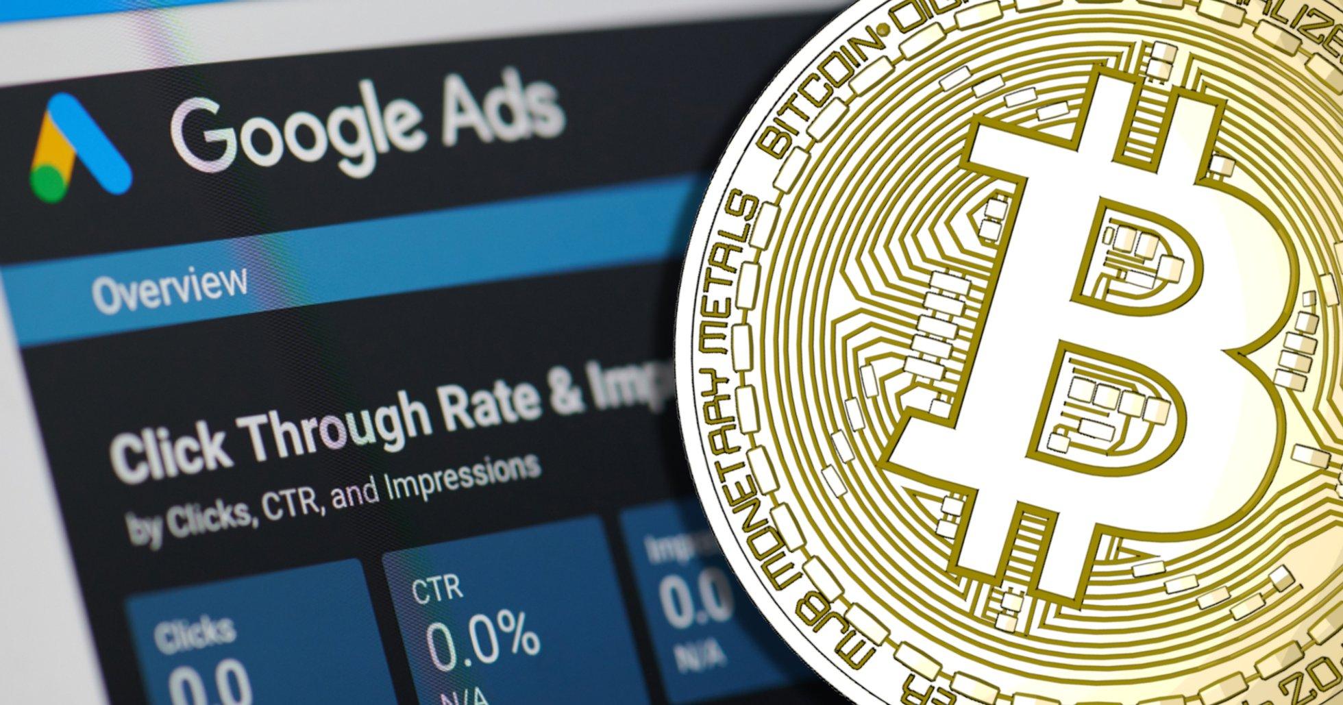 Google tar bort förbud mot annonsering för kryptobörser