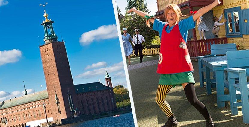 Pippi ska sälja Vimmerby i huvudstaden.