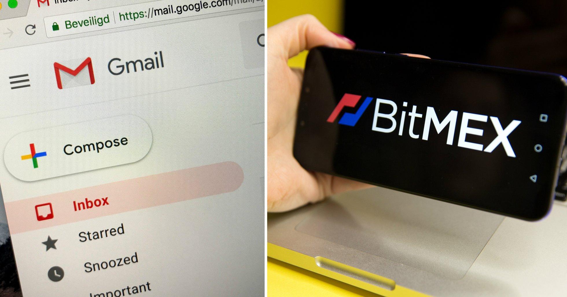 Kryptobörsen Bitmex har läckt sina användarnas mejladresser.