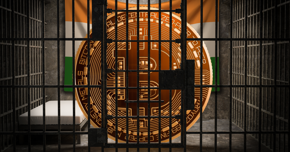 New bill in India proposes ten years in prison for owning cryptocurrencies.