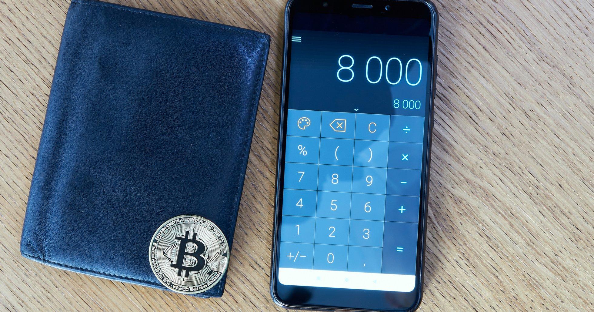 Bitcoinpriset stiger 7,6 procent på ett halvt dygn –handlas återigen över 8 000 dollar.