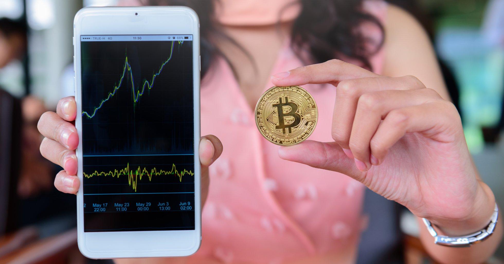 Studie visar: 43 procent av investerare som är intresserade av bitcoin är kvinnor.